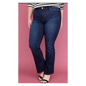 NWT Lane Bryant Low Rise Straight Size Jeans